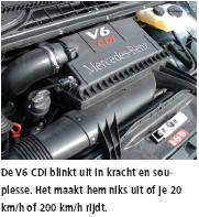 V6CDI motor Mercedes Benz Vito