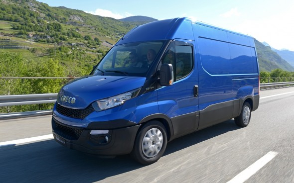 Iveco New Daily test drive Saint Vincent-Ivrea