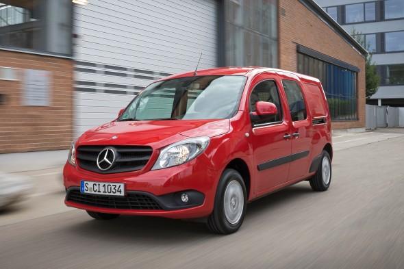 Gereden Mercedes Benz Citan Euro 6 Bestelauto Nl